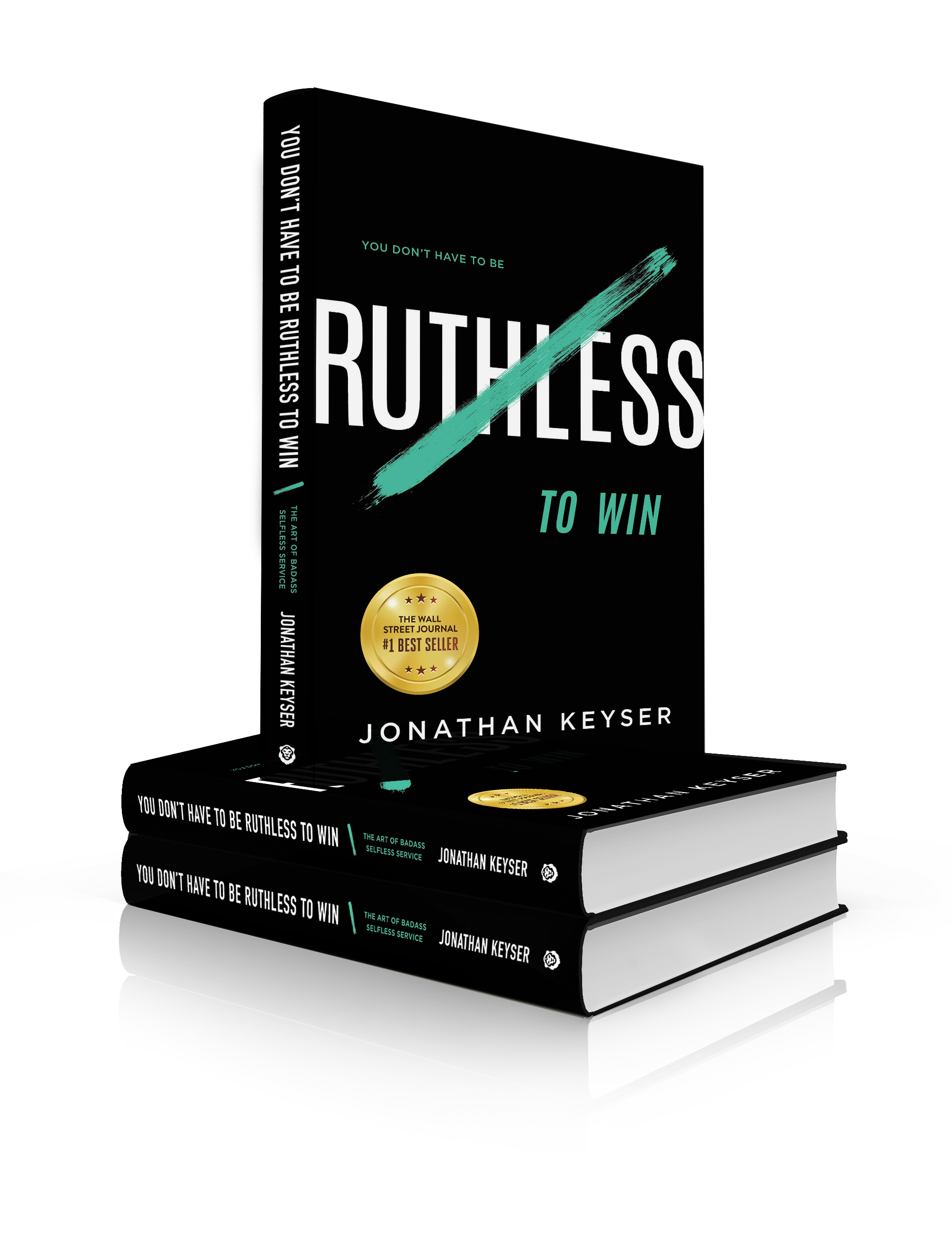 Ruthless Book Stacked