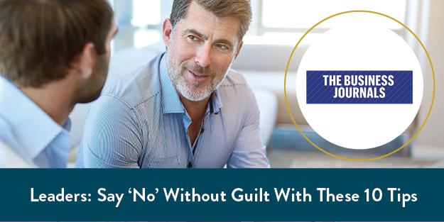 No Guilt Leadership
