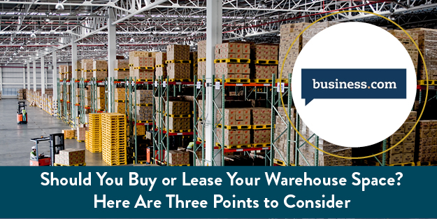 Lease or Buy Warehouse