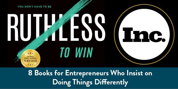 8 books for Entrepreneurs